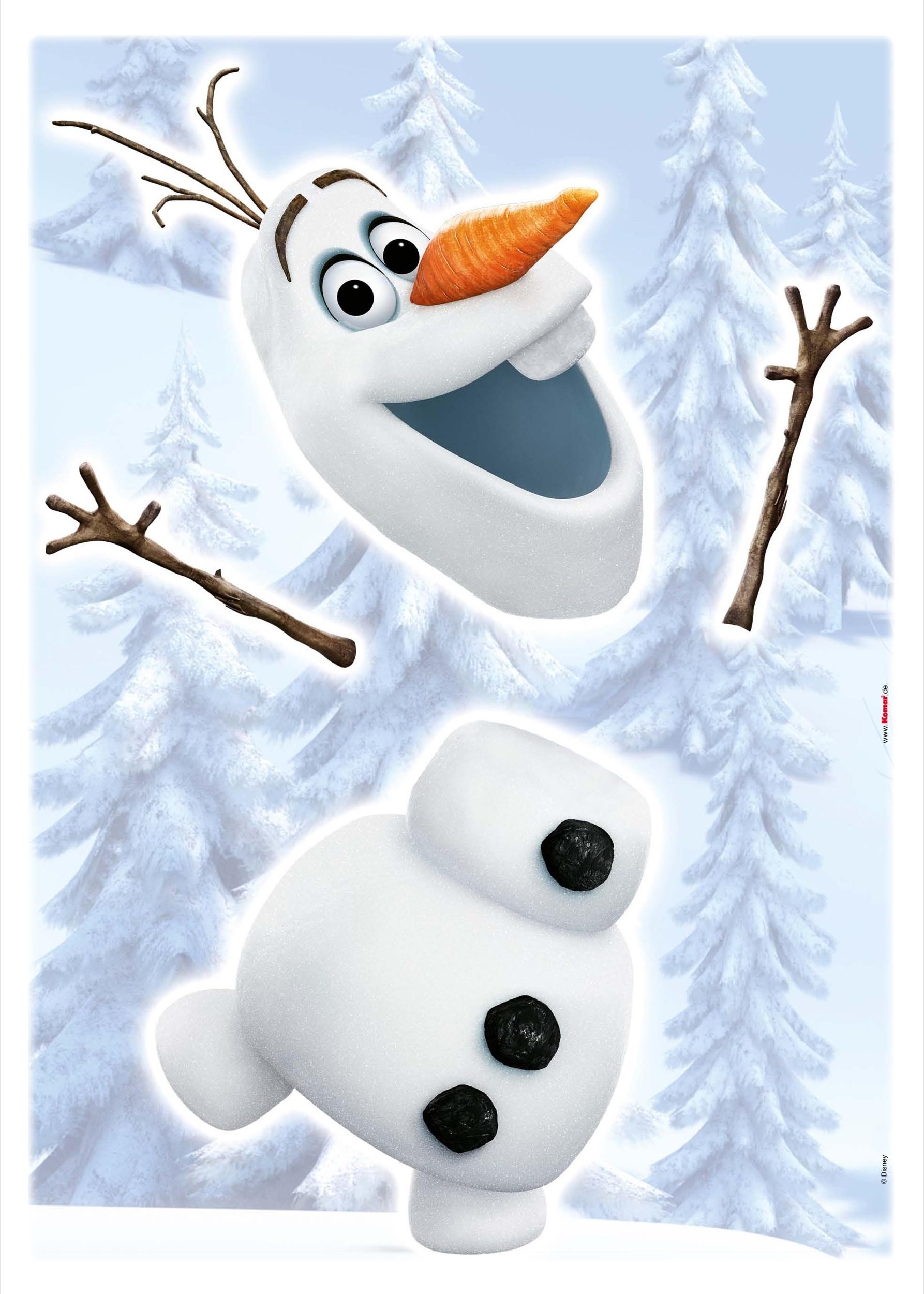 Afbeelding van Frozen Olaf Disney Muurstickers