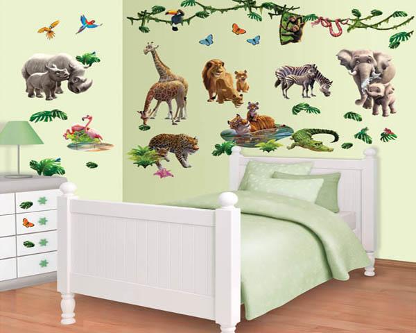 Afbeelding van Walltastic Jungle Adventure Room Décor Kit