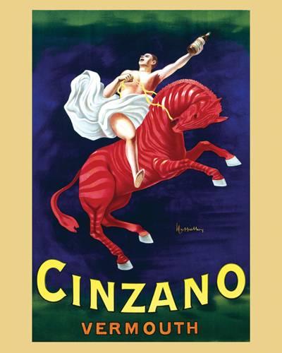 Afbeelding van Cinzano Vermouth Leonetto Cappiello Poster 40x50cm Eten Drinken Posters