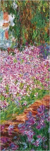Afbeelding van De Tuin Claude Monet 3 Poster 30.5x91.5cm Natuur Posters