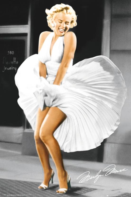 Фото мерлин монро с поднятым платьем