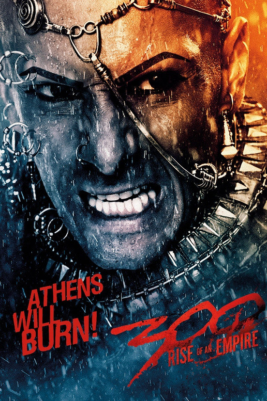 Afbeelding van 300 Rise Of An Empire Athens Will Burn Poster 61x91.5cm Film Posters