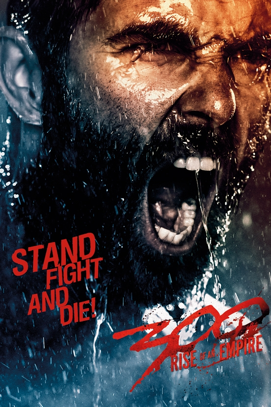 Afbeelding van 300 Rise Of An Empire Fight And Die Poster 61x91.5cm Film Posters