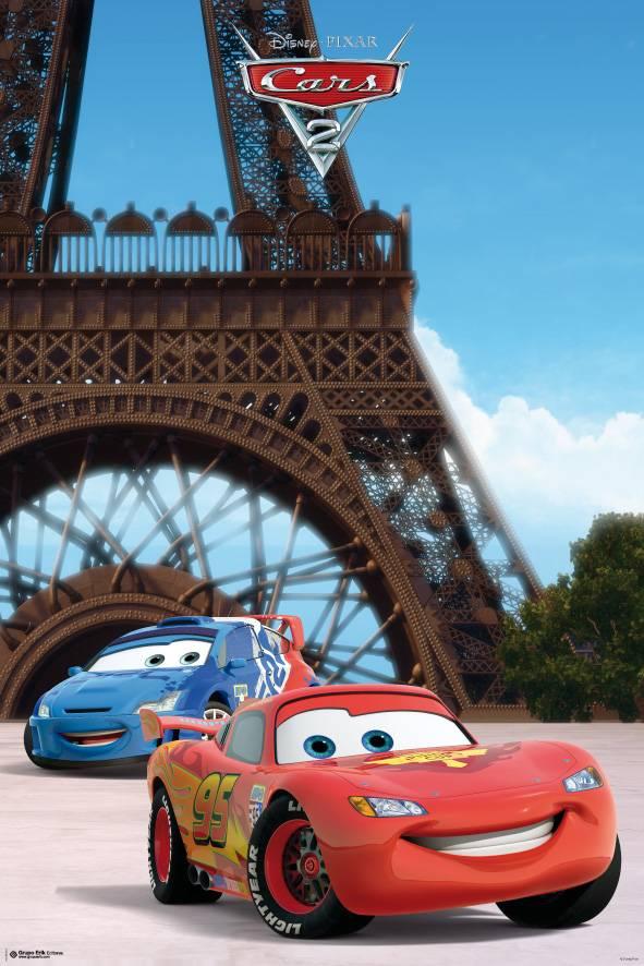 Afbeelding van Cars 2 Eiffeltoren Poster 61x91.5cm Disney Posters