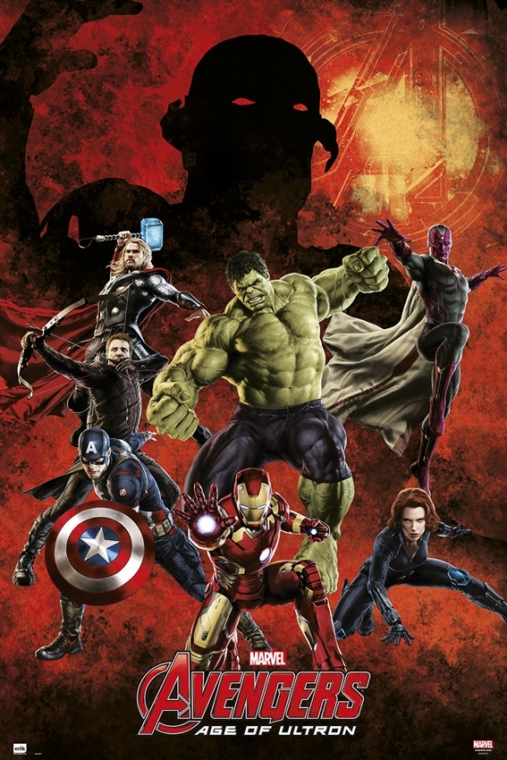Afbeelding van Avengers Age Of Ultron Groep Poster 61x91.5cm Strip Posters