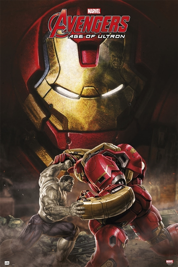 Afbeelding van Avengers Age Of Ultron Hulkbuster Poster 61x91.5cm Strip Posters