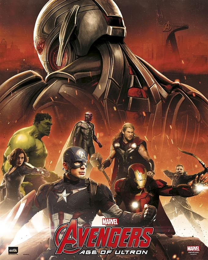 Afbeelding van Avengers Age Of Ultron Poster 40x50cm Strip Posters