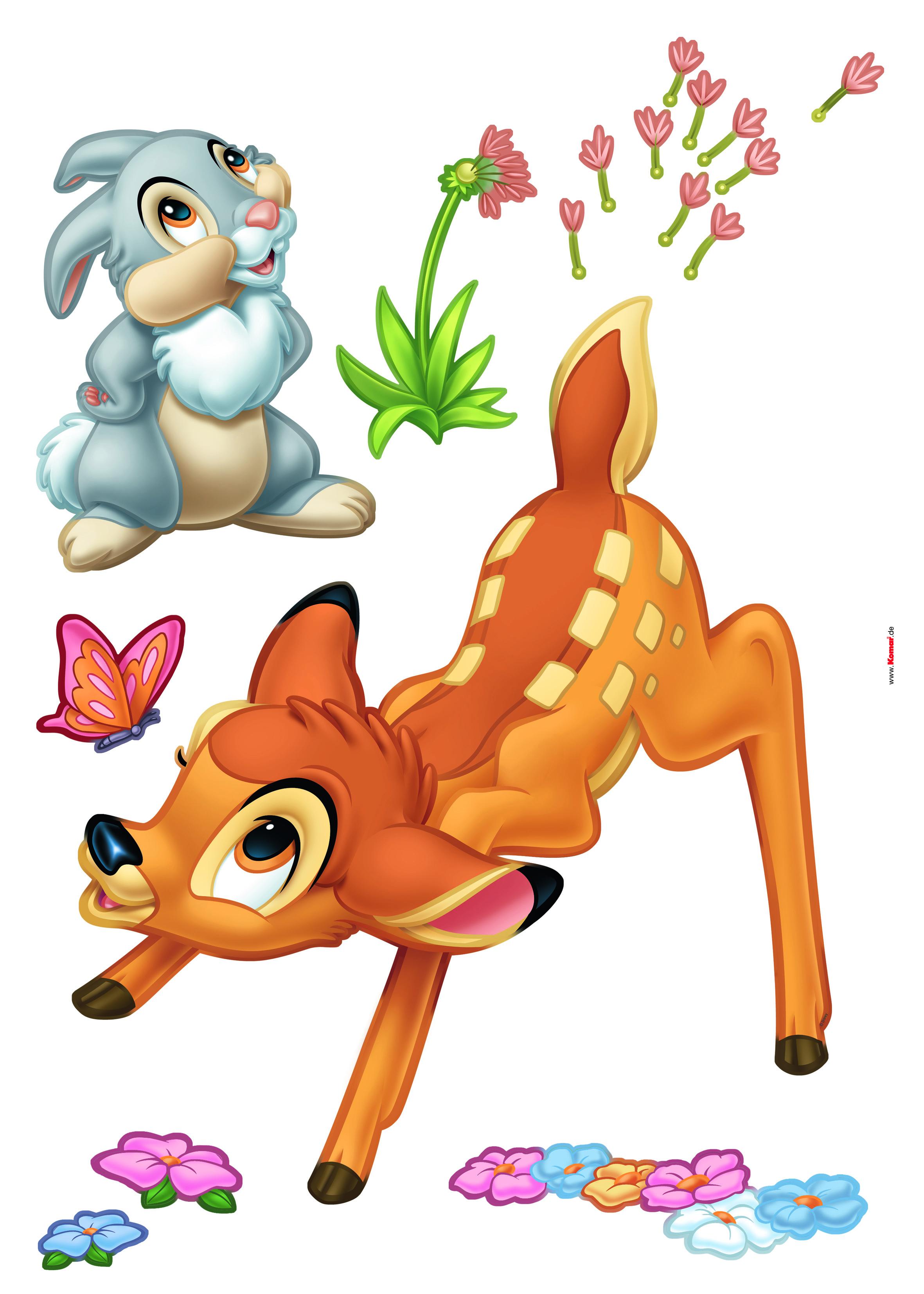 Afbeelding van Bambi Sneeuw Disney Muurstickers