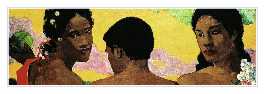Afbeelding van 3 Tahitian Impressionisme
