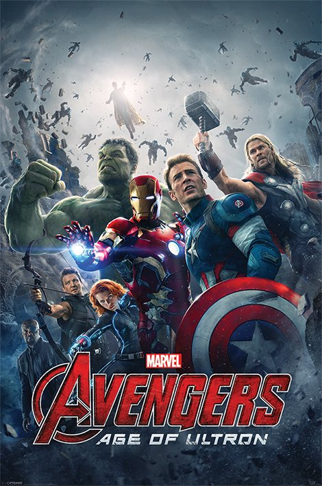 Afbeelding van Avengers Age Of Ultron Poster 61x91.5cm Strip Posters