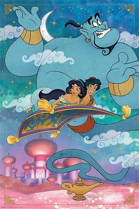 Afbeelding van Aladdin A Whole New World Poster 61x91.5cm Kinder Posters